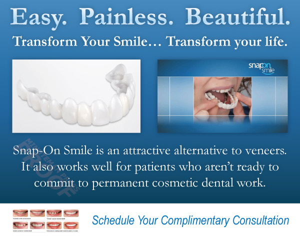 Snap-On Smile. Easy. Painless. Beautiful. Schedule Your Complimentary Consultation